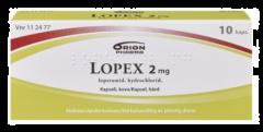 LOPEX 2 mg kaps, kova 10 fol