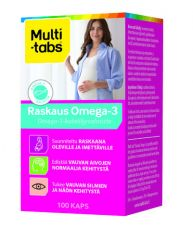 MULTI-TABS RASKAUS OMEGA-3 100 KAPS